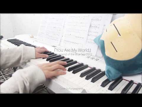 The Legend of the Blue Sea OST2 - You Are My World by Yoon Mi Rae - piano cover w/ sheet music