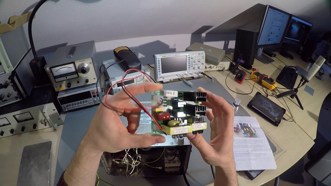 Failed: Ultrasonic Cleaner Repair