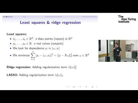 Ridge functions, their sums, and sparse additive functions – Jan Vybiral, Czech Technical University