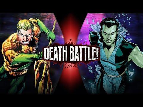 Aquaman VS Namor (Marvel VS DC Comics)   DEATH BATTLE!