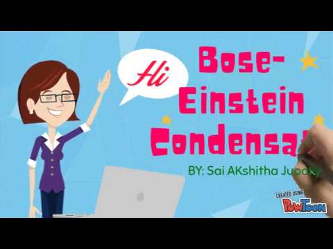 The Bose Einstein Condensate Explained