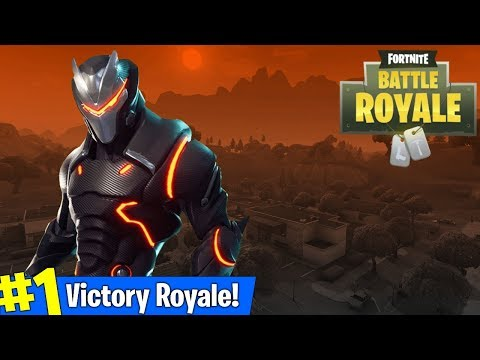 Fortnite Max Omega Outfit Grind Getting Wins Amazing Fortnite