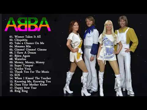 ABBA Best Songs Collection 2018  -...