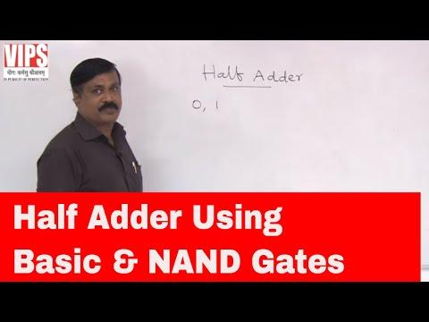 Half Adder ( Digital Electronics )