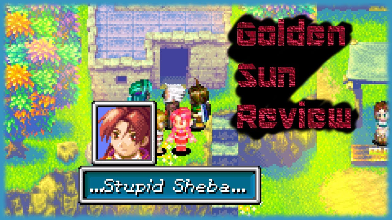 Golden Sun Review (GBA) - BawesomeBurf