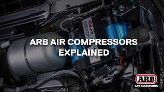 ARB Air Compressors | On-board or Portable, Twin or Single, Air Tank or no Air Tank & Brackets
