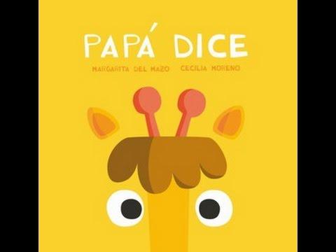 Resultado de imagen de PAPÁ DICE cuento