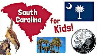 South Carolina for Kids | US States Learning Video