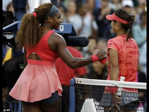 Serena Williams VS Li Na Highlight 2013 SF