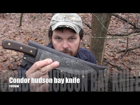 Condor hudson bay  knife  Review !