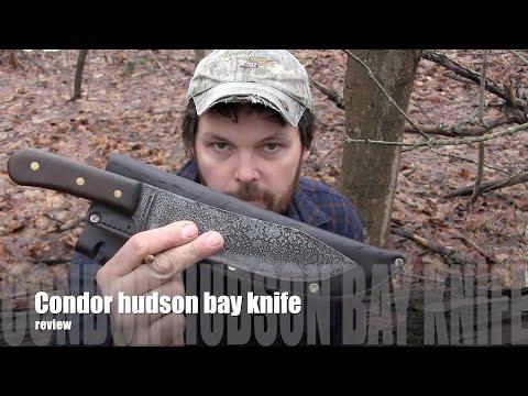 Condor hudson bay  knife  Review !