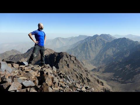 Toubkal Refuge to Bouguinoussen & Tamsoulte, Atlas Mountains, Morocco - 28 September 2016