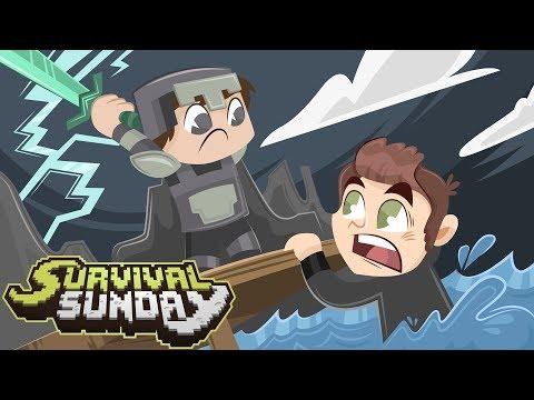HE BETRAYED ME! - Minecraft Survival Sunday (LogDotZip)