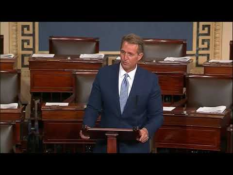 Republican Senator Jeff Flake attacks 'reckless, outrageous and undignified' Trump
