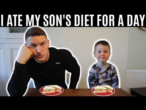 i ate my son amp 39 s diet for a day