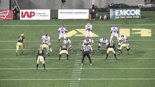 Fordham University Running Back Chase Edmonds 2015 Highlights