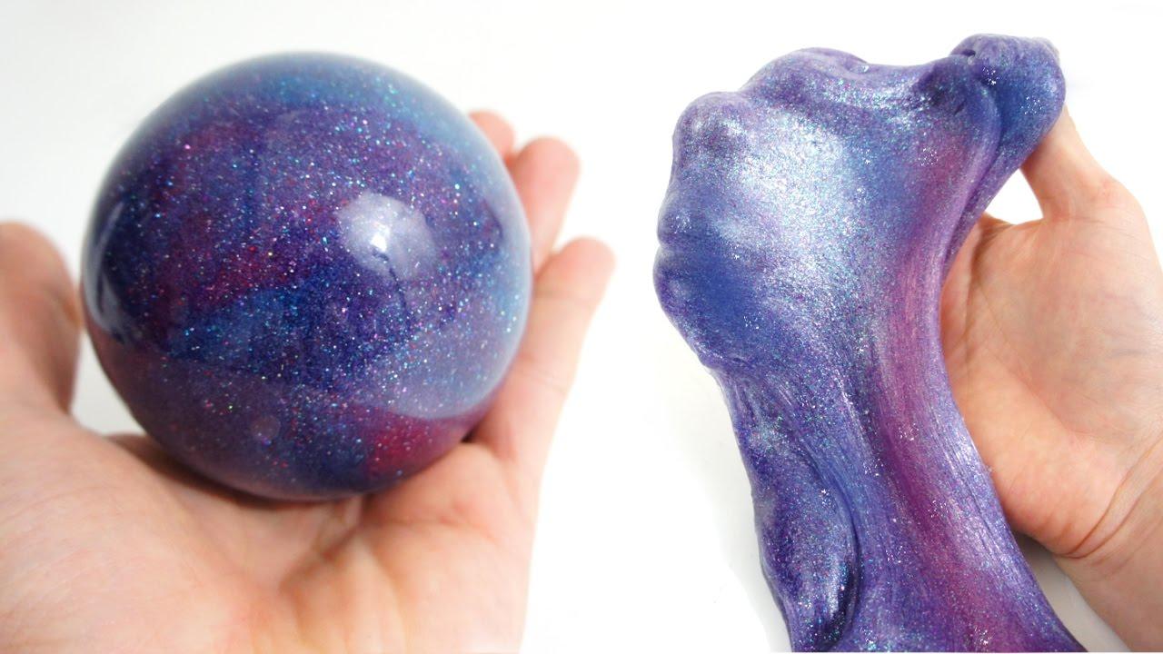 Le Galaxie Slime Galaxie Planète Tuto Slime Youtube