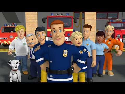 Сэм - Герой по соседству! | Пожарный Сэм ⭐️Компиляция | Мультфильмы для детей