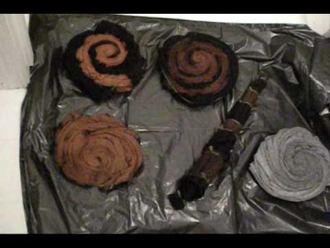 Reverse Tie Dye The Art Of Bleach Tie Dying Youtube