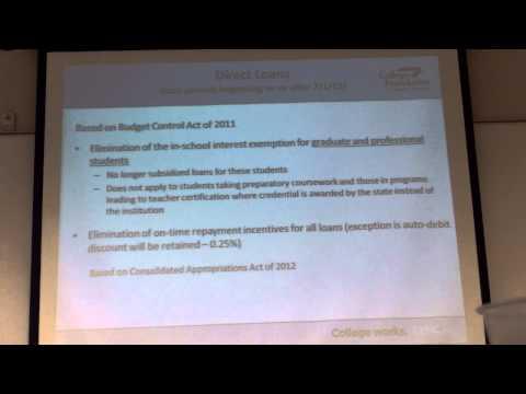 Financial Aid   Federal Direct Loan Program