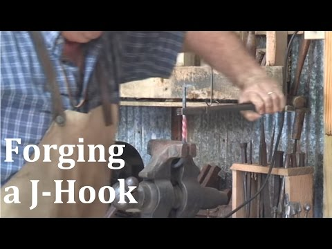 Forging a J-Hook with Bryan Dale Headley