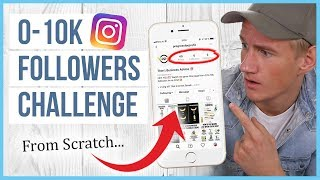 🔥 0 to 10k Followers Instagram Challenge - (Part #1): Growing First 1000 Followers from SCRATCH 🔥