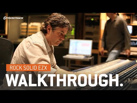 Rock Solid EZX - Walkthrough (Expansion for EZdrummer)