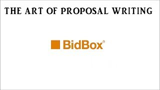 The Art of Proposal Writing