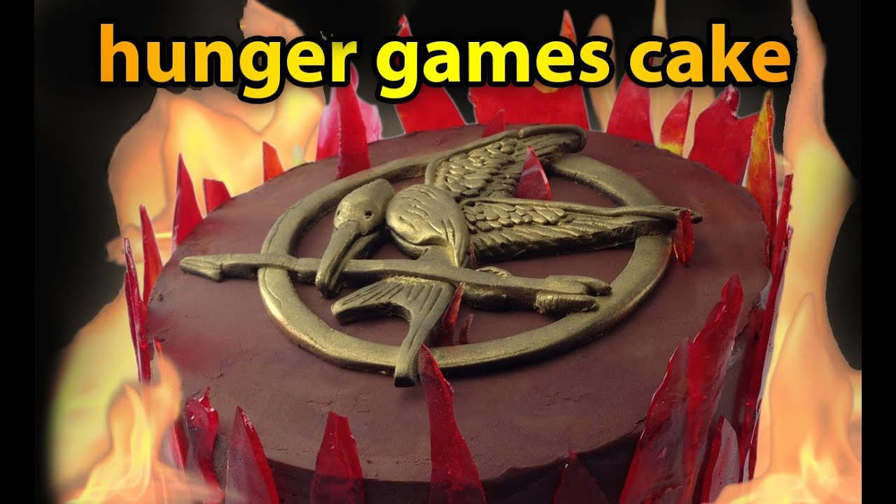 Hunger Games Cake Tutorial Mockingjay Cake How To Cook