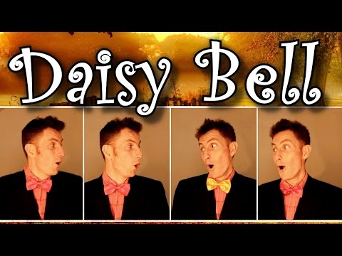 Daisy Bell / A Bicycle Built For Two - Barbershop Quartet