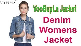 VooBuyLa Denim Jacket || Women Coats || Women Jacket  || Best Ladies Blazers  ||