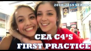 CEA C4's First Practice of the 2018-2019 Season!!