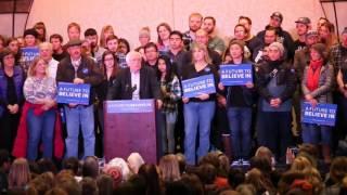 Bernie Sanders in reno