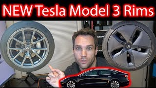 New Tesla Model 3 Rims?!
