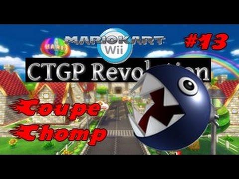 Mario kart wii ctgp revolution 13 coupe chomp youtube for Coupe miroir mario kart wii