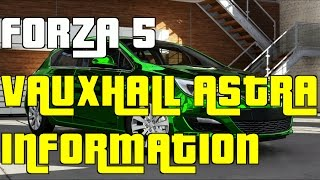 "Forza 5 Vauxhall Astra 1.6 Information Gameplay ""Vauxhall Astra 1.6"""