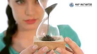 Мир Магнитов - Уникальный сувенир: магнитные песочные часы