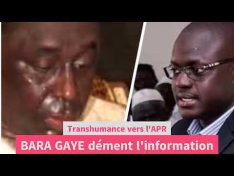 Bara Gaye à APR: Le Maire de Yeumbeul Sud dément l'information