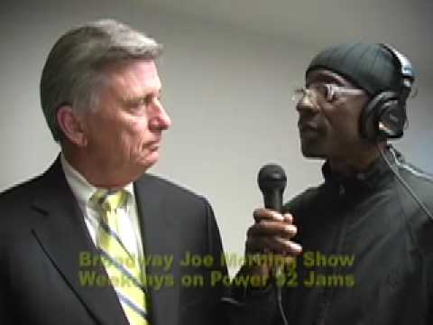 GOV.  BEEBE OF ARKANSAS WITH BROADWAY JOE
