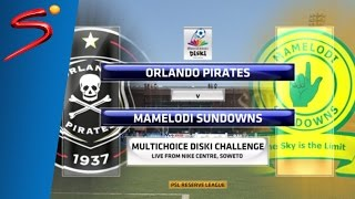 MultiChoice Diski Challenge 2015/16 Rd 5: Orlando Pirates 0-4 Mamelodi Sundowns