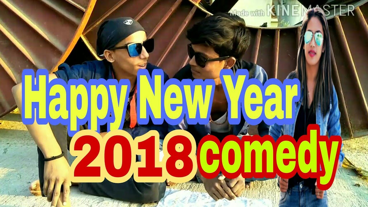 Happy New Year 2018 || New Comedy videos || bhikhari video || Amit bhadana New video || A1 mast 2018