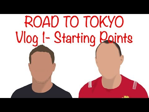 ROAD TO TOKYO 2019- Rugby World Cup 2019- Vlog 1- England, Ireland, Wales, Scotland