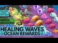 Merge Dragons Healing Waves Event Rewards & Sea Dragon • Tips & Tricks Guide Live#7 ☆☆☆