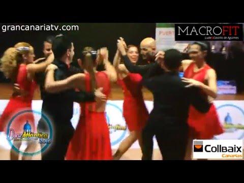 Airam y Macu - subcampeones Rueda de casino (Salsa) - DanzAtlántica 2016