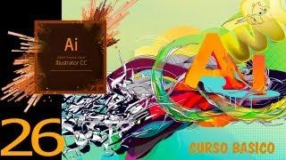 Adobe illustrator CC tutorial, Cómo escalar, distorsionar, Curso Básico Español capitulo 26