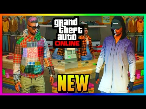"GTA 5 Online - All NEW Clothing, Outfits, Accessories, Shoes, etc - ""IMPORT AND EXPORT DLC"""
