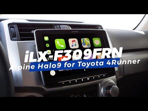 alpine-|-ilx-f309frn-halo9-installation-tutorial-|-2014+-toyota-4runner