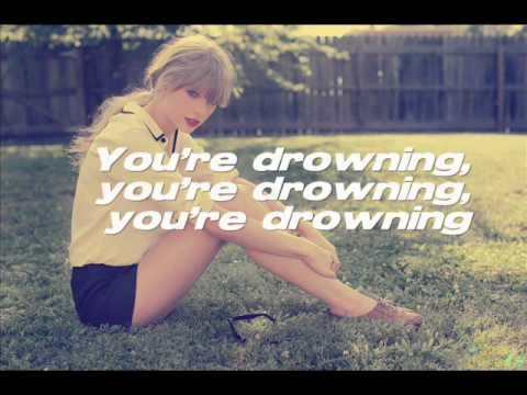 I Knew You Were Trouble - Taylor Swift (lyrics on screen)