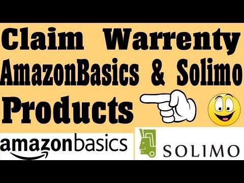 How To Claim Warrenty On Amazon Basics & Solimo Products ? {Hindi}