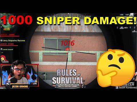 '1000 SNIPER DAMAGE!'